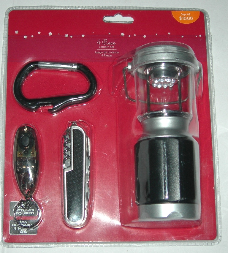 4 pc lantern and outdoor sealed set (6)
