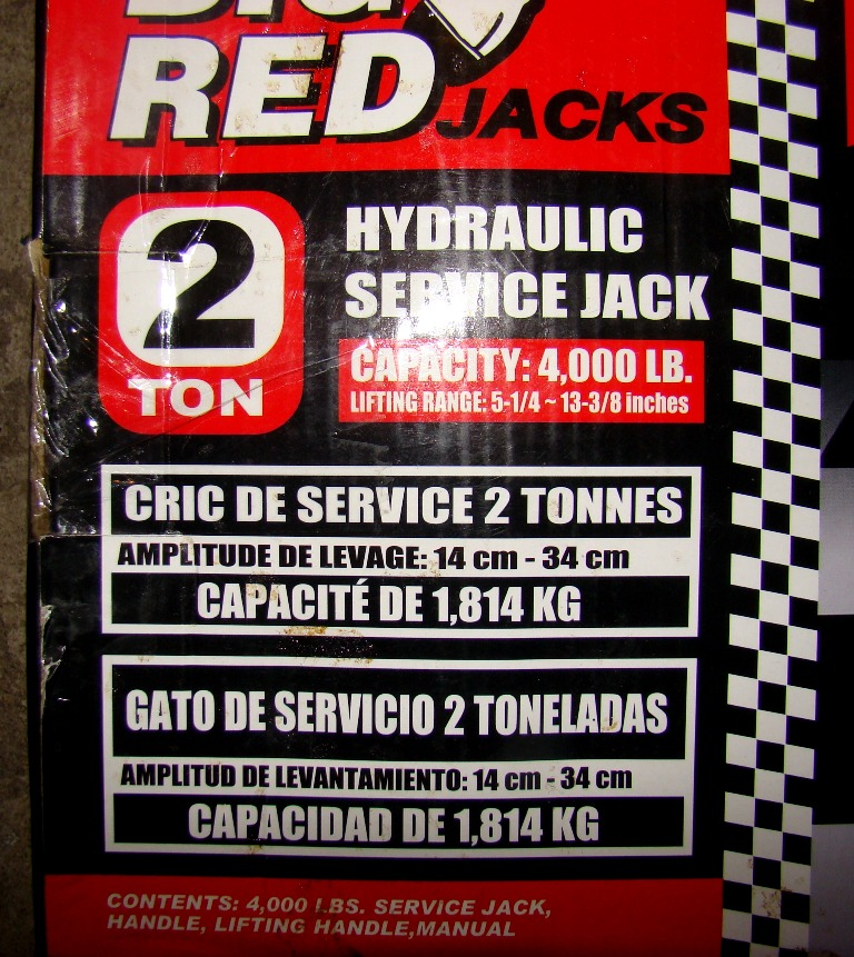 Big Red Hydraulic Service Jack (4)
