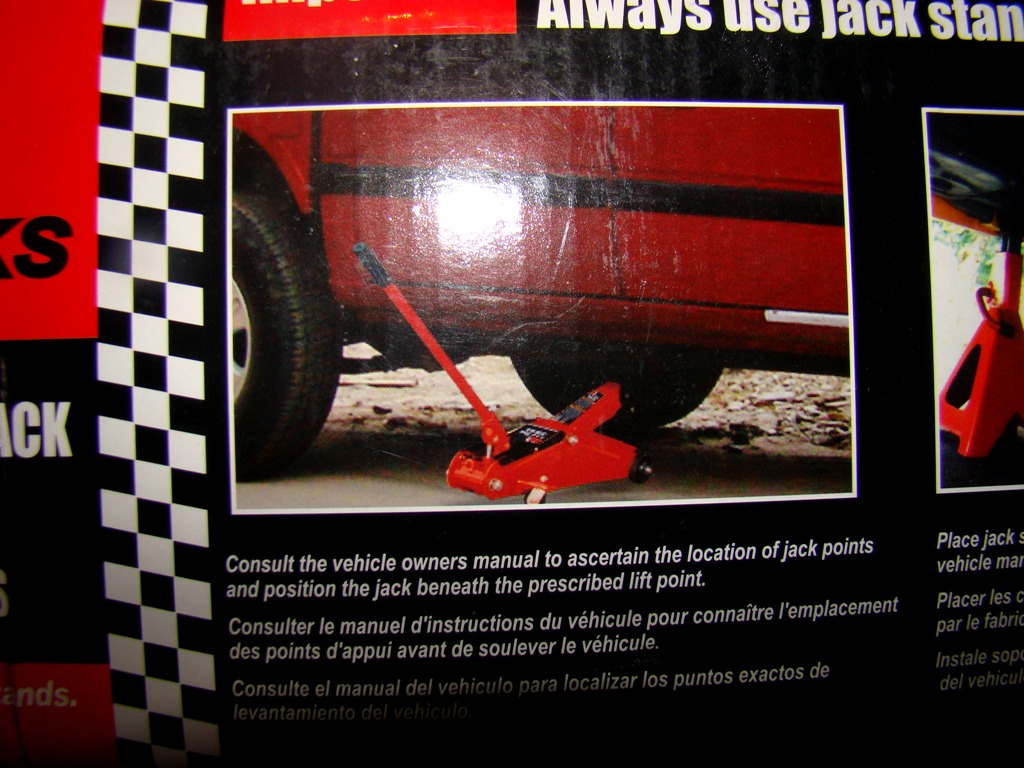 Big Red Hydraulic Service Jack (8)