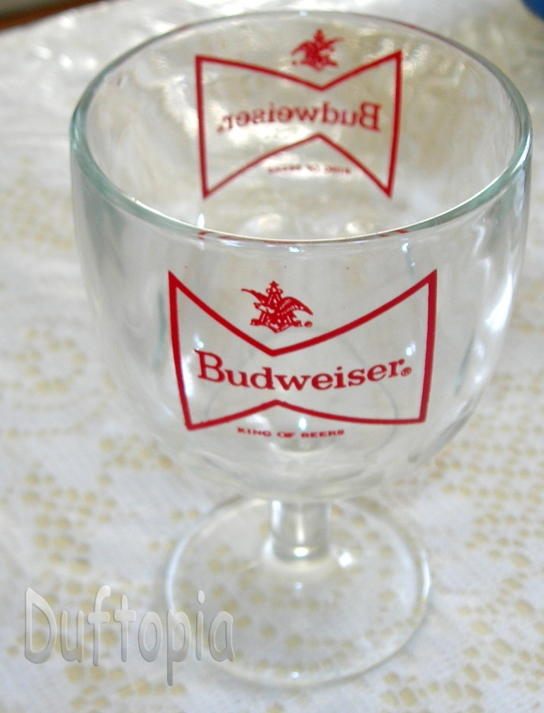 Budwieser glass