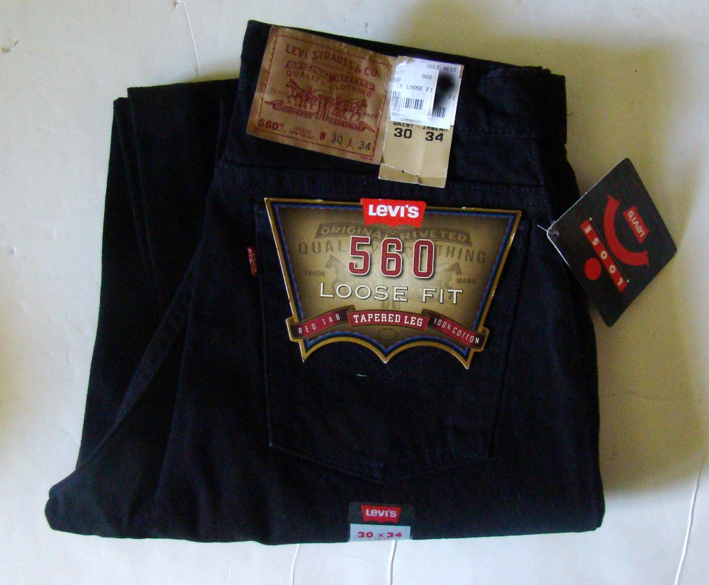 Levis 560 loose fit tappered legs (2)