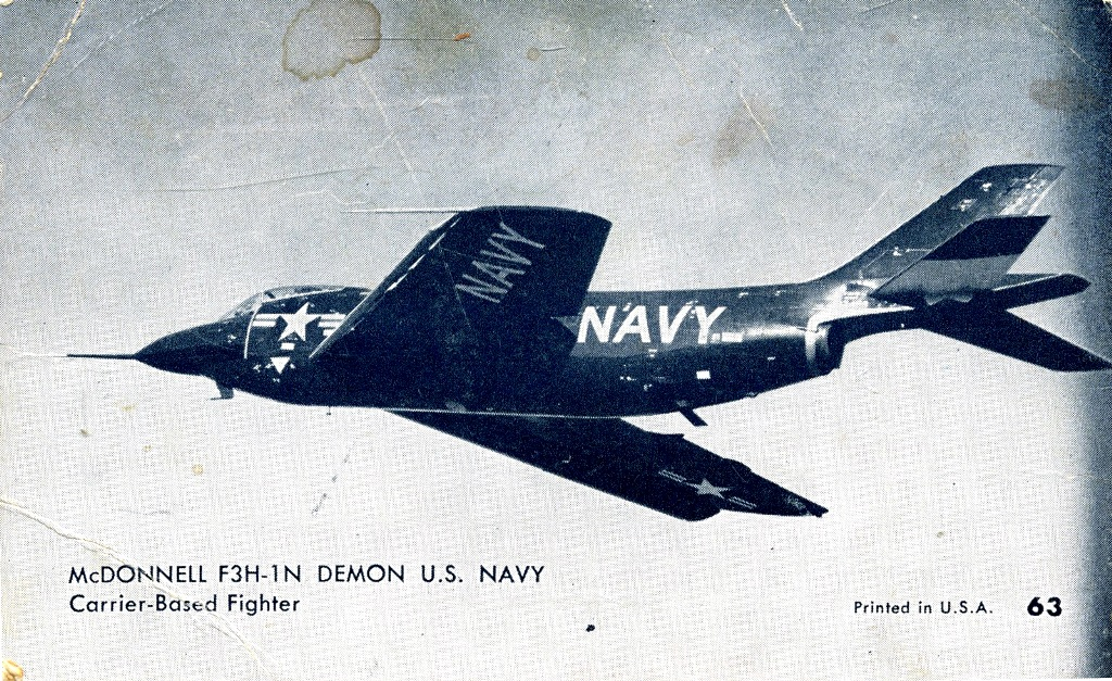 Mcdonell Douglas F3h-1n Demon (1)
