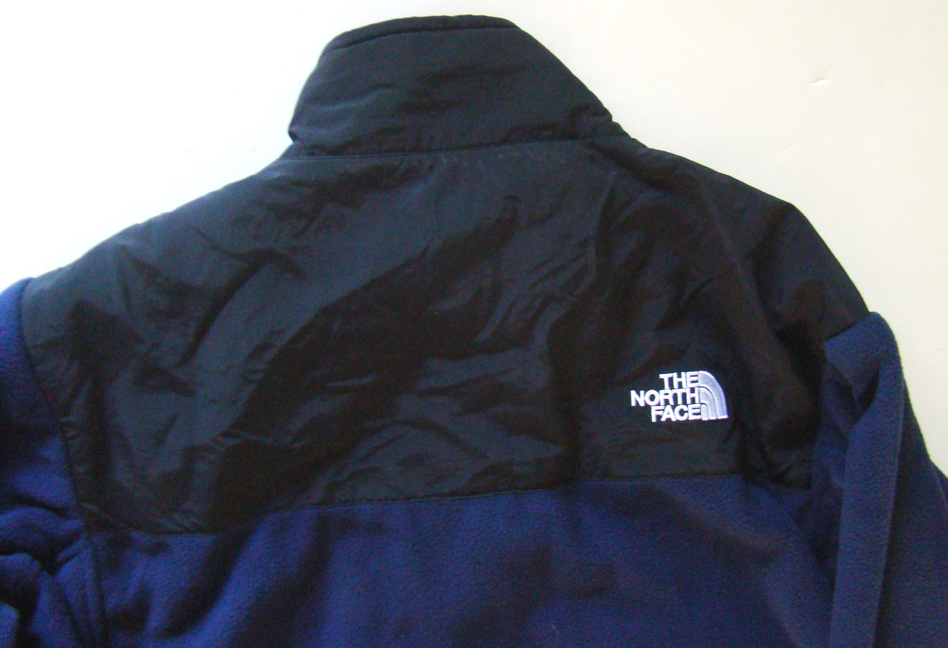 Mens navy blue   Black large denali jacket (6)