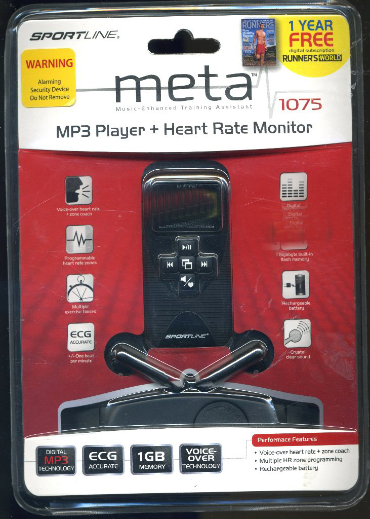 Meta 1075 MP3 player and heart monitoor sportline (1)1