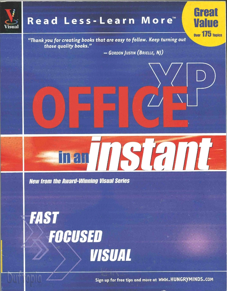Office xp in an instant