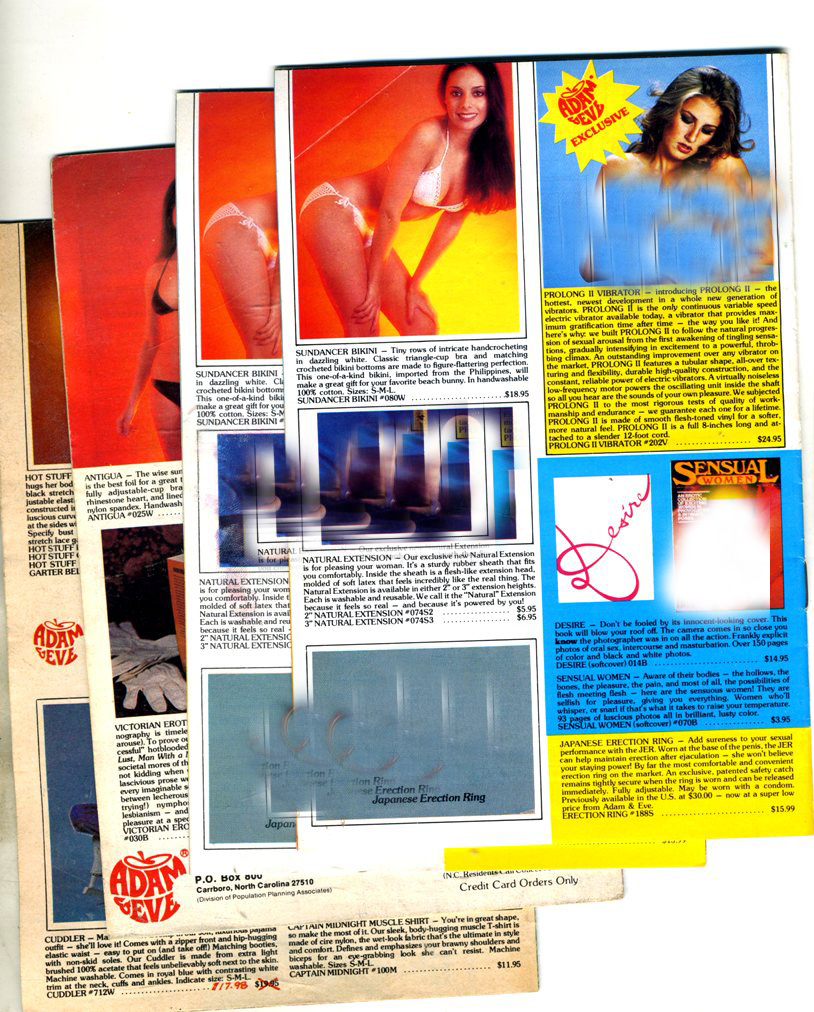Old Adam and Eve Catalogs - 4 units (1)