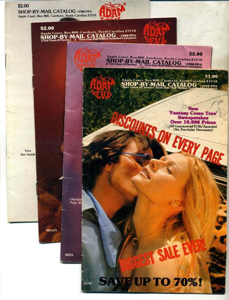 Old Adam and Eve Catalogs - 4 units (2)