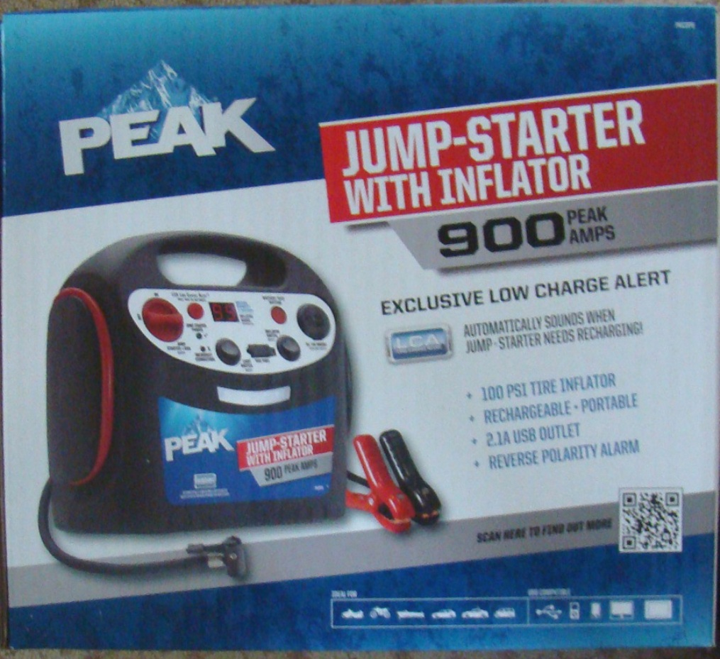 PEAK 900 jump starter and tire inflater (1)