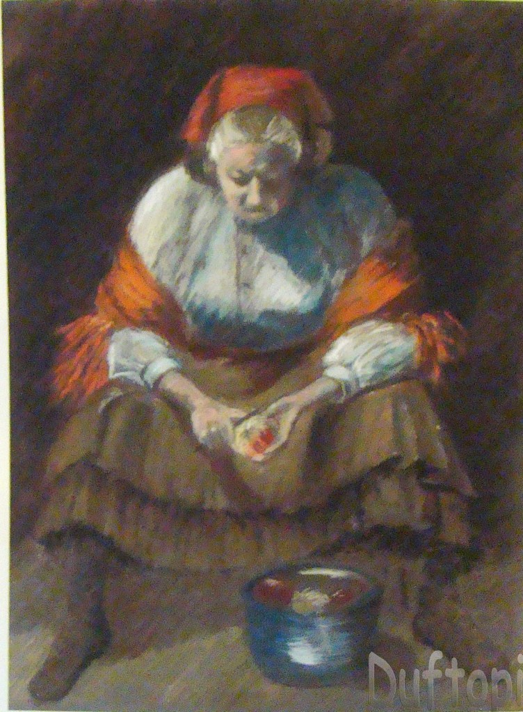 The Apple Lady Josephine impellizerri print grandma mosses (4)