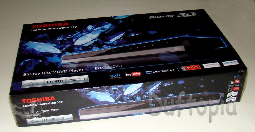 First Toshiba Blu Ray Player Toshiba Bdx4200ku Blu-ray