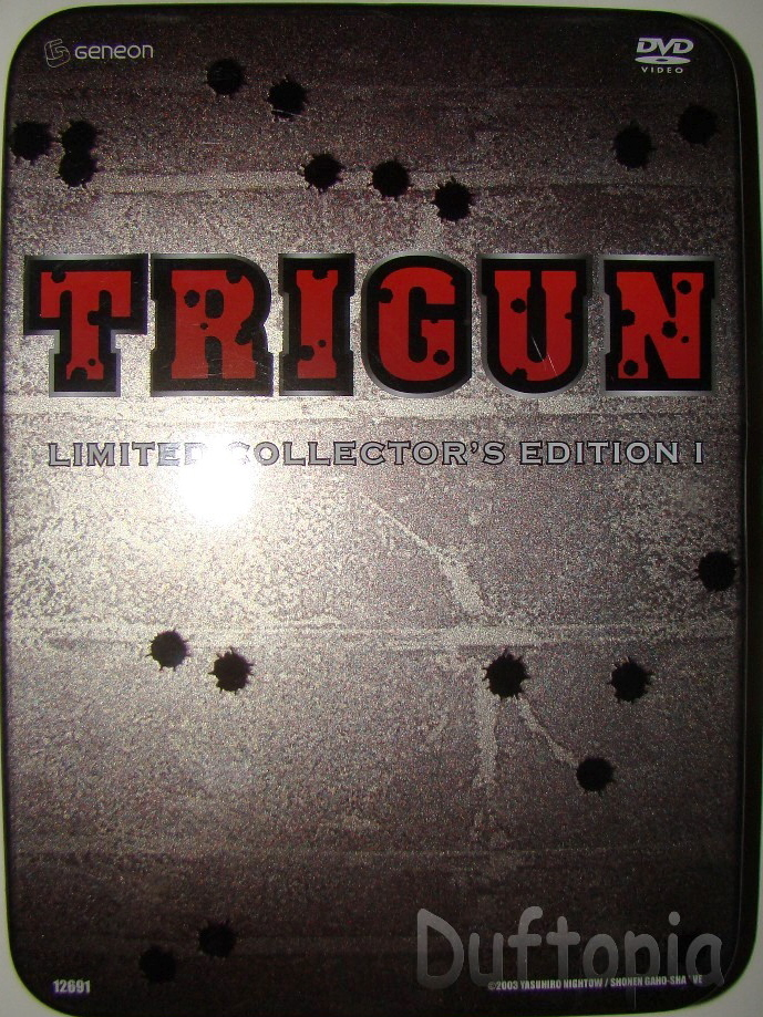 Trigun special edition collectors series (3)
