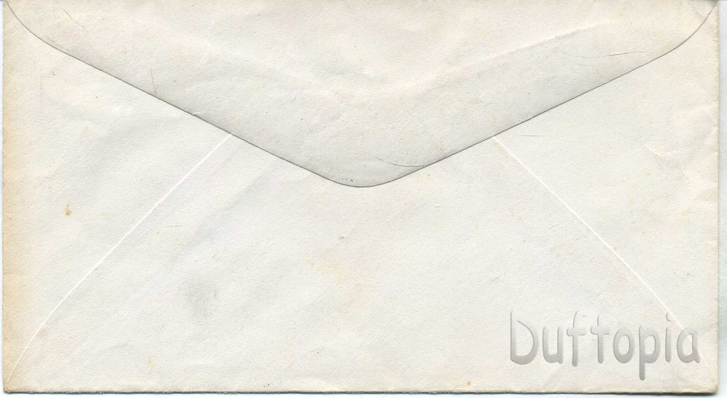 US 4 cent Postage stamped envelope (2)