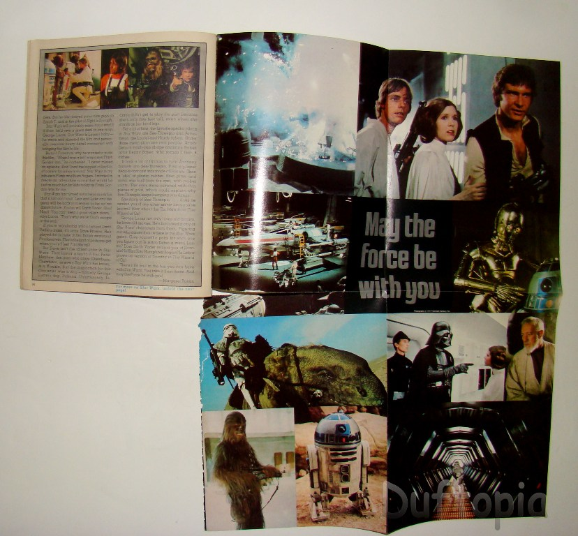 hardy boys dynamite #41 with star wars poster (2)